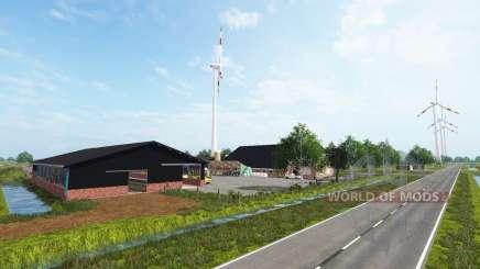 Sur-Oeste De Frisia para Farming Simulator 2017