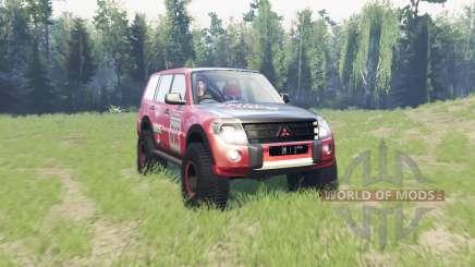 Mitsubishi Montero para Spin Tires