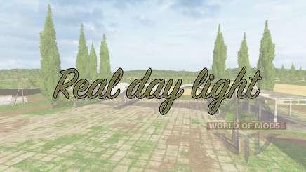 Real day light v1.1 para Farming Simulator 2017
