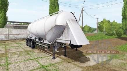 Kogel semitrailer-tank para Farming Simulator 2017