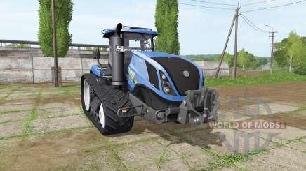 New Holland T7.315 TerraTrac v1.15 para Farming Simulator 2017