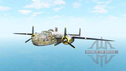 North American B-25 Mitchell v5.3.1 para BeamNG Drive
