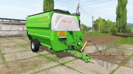 El propietario de PBC 2500 para Farming Simulator 2017