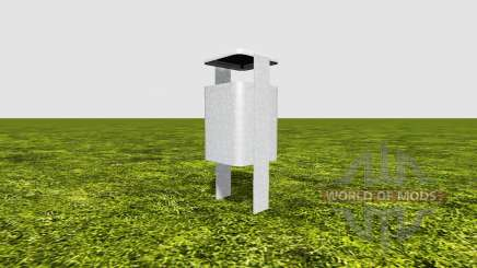 Trash can para Farming Simulator 2017