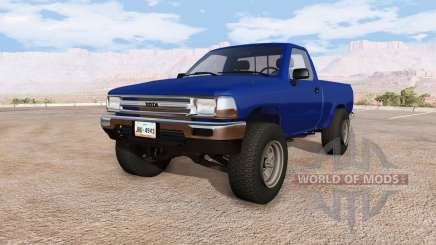 Toyota Hilux v2.0.1 para BeamNG Drive