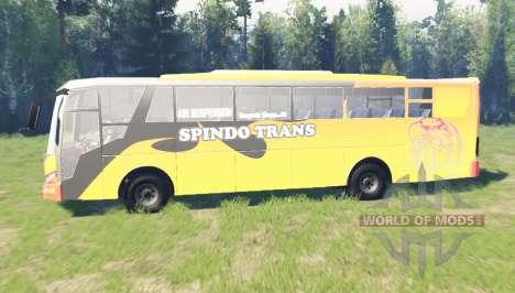 Mercedes-Benz OH 1626 para Spin Tires