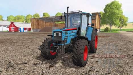 Eicher 2090 Turbo front loader v1.1 para Farming Simulator 2015