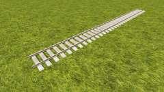 Una colección de pistas de ferrocarril