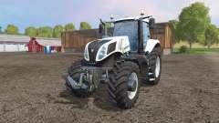 New Holland T8.435 white v1.1