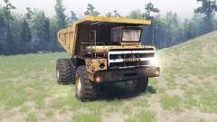 BelAZ 540 v2.0 para Spin Tires