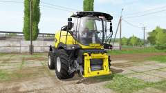 New Holland FR850 manual pipe para Farming Simulator 2017