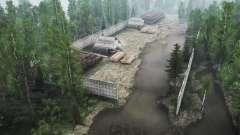 Siberiano bosque 2 v1.1 para MudRunner