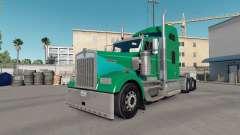 La piel de Arcilla Verde en el camión Kenworth W