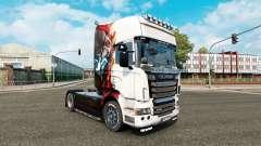 La piel de Iron man para tractor Scania R-series