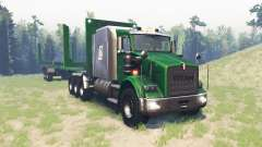Kenworth T800 RS Titan para Spin Tires
