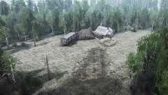 El trabajo en el bosque para MudRunner