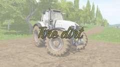 Tire dirt