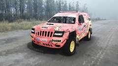Jeep Grand Cherokee (WJ) Superwolf v1.04 para MudRunner