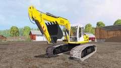 Liebherr A 900 C Litronic crawler para Farming Simulator 2015