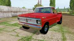 Ford F-100 Flareside 1970