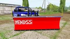 Chevrolet Silverado 2500 HD Crew Cab 2006 plow para Farming Simulator 2017