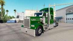 La piel de las Malezas en el camión Kenworth W90