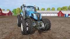 New Holland T8.320 twin wheels para Farming Simulator 2015