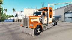 La piel de Una Naranja en el camión Kenworth W90