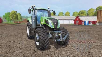 New Holland T8.435 green para Farming Simulator 2015