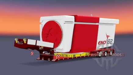 Doll Vario 3-axle v5.0 para Euro Truck Simulator 2