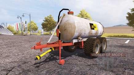 Jo-Ba manure barrel v3.1 para Farming Simulator 2013
