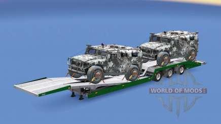 Military cargo pack v1.9 para Euro Truck Simulator 2