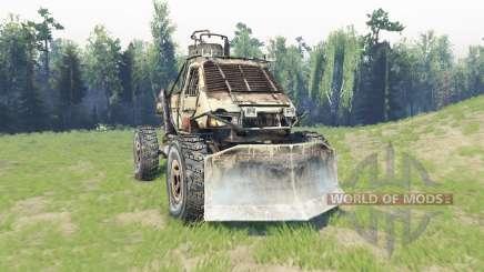 GAZ 3302 [Metro 2033] para Spin Tires