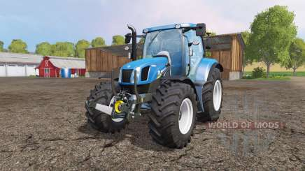 New Holland T6.160 front loader v1.1 para Farming Simulator 2015