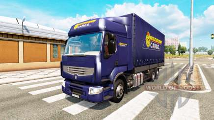 Tandem truck traffic v1.3 para Euro Truck Simulator 2