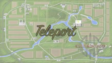 Teleport v1.1 para Farming Simulator 2017