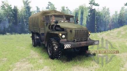 Ural 43206-41 para Spin Tires