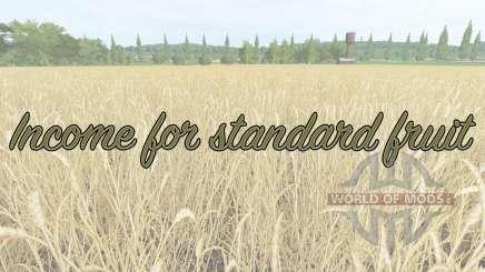 Income for standard fruit para Farming Simulator 2017