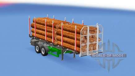 Small log trailer para Euro Truck Simulator 2