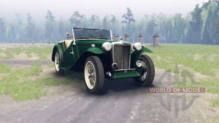 MG TC Midget 1948 para Spin Tires