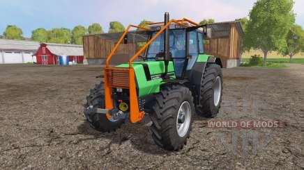 Deutz-Fahr AgroStar 6.61 forest para Farming Simulator 2015