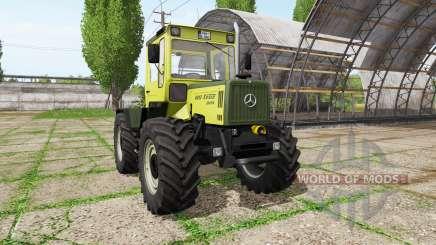 Mercedes-Benz Trac 800 v2.2 para Farming Simulator 2017