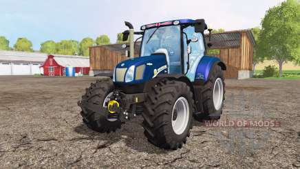 New Holland T6.160 blue power v1.1 para Farming Simulator 2015