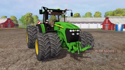 John Deere 7930 twin wheels para Farming Simulator 2015