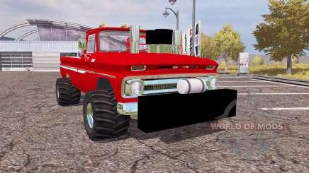 Chevrolet C10 1964 lifted para Farming Simulator 2013