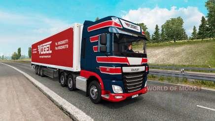 Painted truck traffic pack v2.6 para Euro Truck Simulator 2