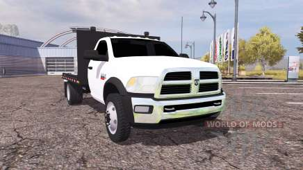 Dodge Ram 5500 Heavy Duty flatbead para Farming Simulator 2013
