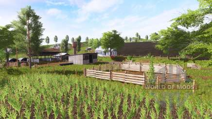 Fazenda Barra Mansa para Farming Simulator 2017