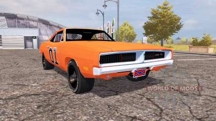 Dodge Charger RT (XS29) 1970 General Lee para Farming Simulator 2013