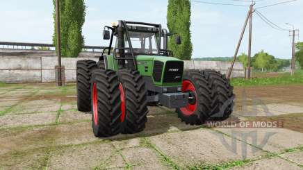 Fendt 920 Vario forest edition para Farming Simulator 2017
